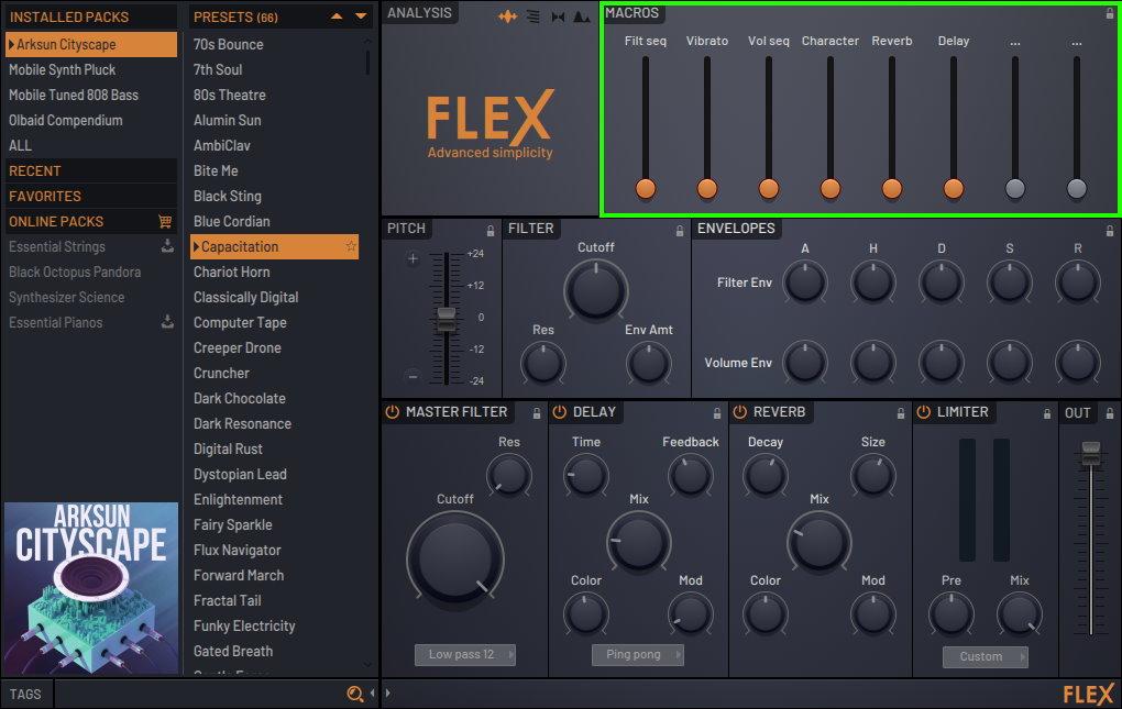 VST-плагин FLEX