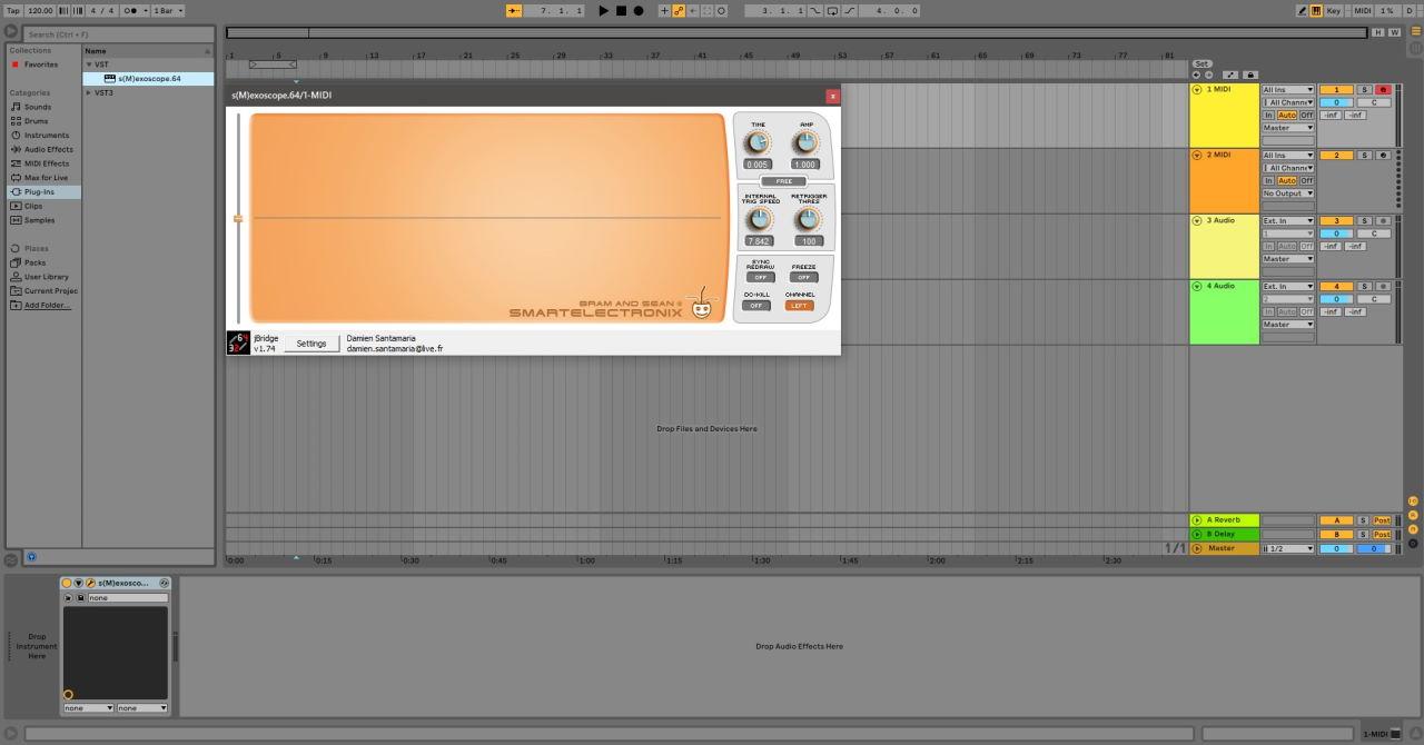 Как установить старые плагины в Ableton Live 10