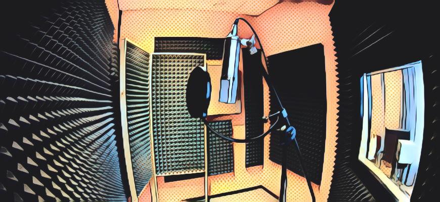 Звукоизоляция для студии