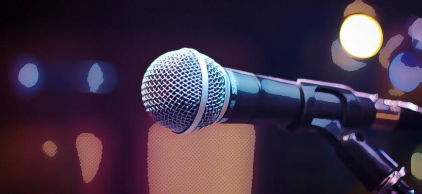 Типы микрофонов